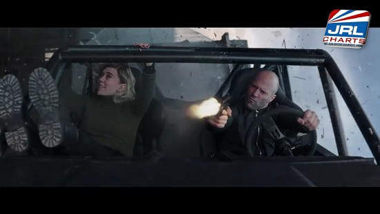 Fast & Furious Hobbs & Shaw - Jason Statham and Vanessa Kirby
