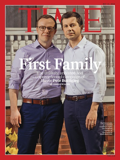 First-Family-Pete-Buttigieg-and-husband-Chasten-Time-Magazine Cover