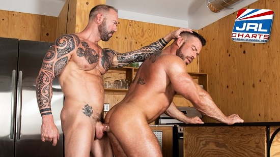 Haulin' Ass DVD-Gay Porn Scene- Vic Rocco and Liam Knox