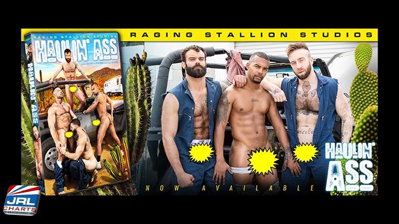 Haulin' Ass DVD - Raging Stallion Street Ricky Larkin, Marco Napoli on Multiple Platforms