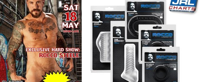 Rocco Steele Confirmed for PFB Rocco Line CloneZone UK Events