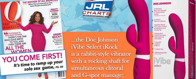 iRock by Doc Johnson Captures Spotlight in Oprah Winfrey O Magazine April Issue
