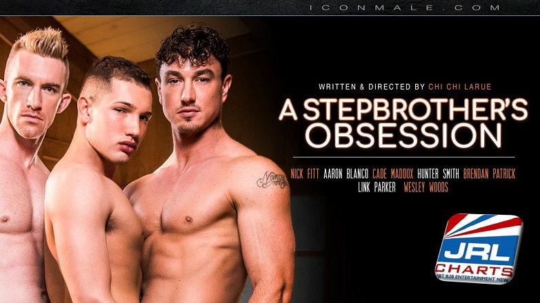 A Stepbrother's Obsession DVD - Nick Fitt, Aaron Blanco, Cade Maddox