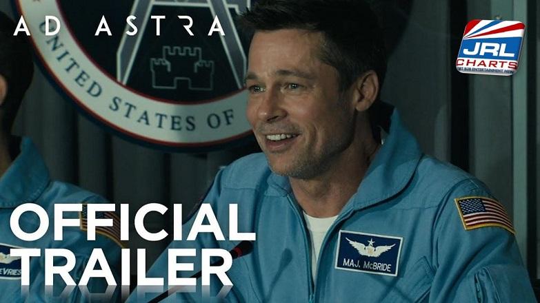 AD ASTRA Trailer #1 Debuts - Brad Pitt, Tommy Lee Jones