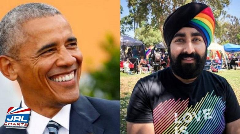 Barack Obama Tweets Message to Jiwandeep Kohli Wearing PRIDE Rainbow Turban