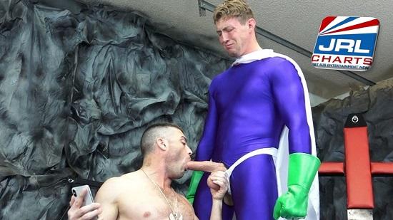 Big Dick Superheroes Taken Down DVD-gay-porn-Lance Hart-Pierce Paris