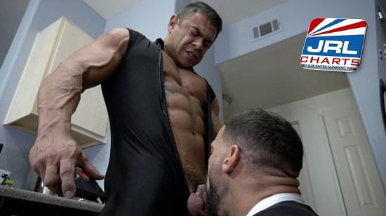 Big Dick Superheroes Taken Down DVD-gay-porn-Ricky Larkin-Draven Navarro