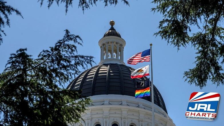 California Defies Trump, Raises PRIDE Flag on Capitol Building
