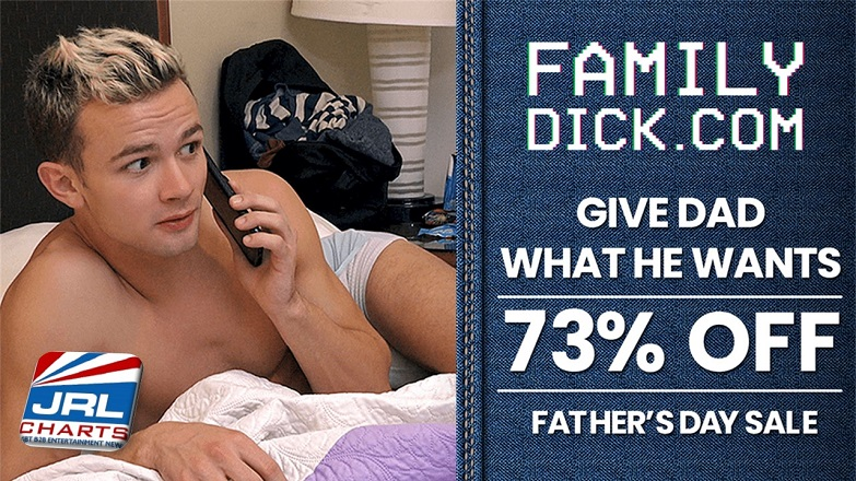 Charged Media Announce Father's Day Discounts on Gay Adult Sites