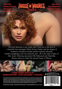 Domino Presley's House of Whores Coven DVD-Backcover-Grooby-Productions