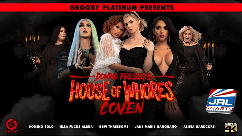 Grooby Productions - Domino Presley's House of Whores Coven' Now Available for-pre-order on DVD