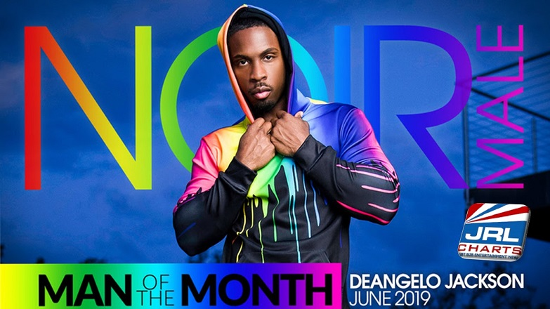 Noir Male Celebrates PRIDE with Man of the Month DeAngelo Jackson