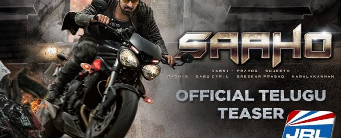 Saaho Official Trailer - watch Action Thriller by UV Creations