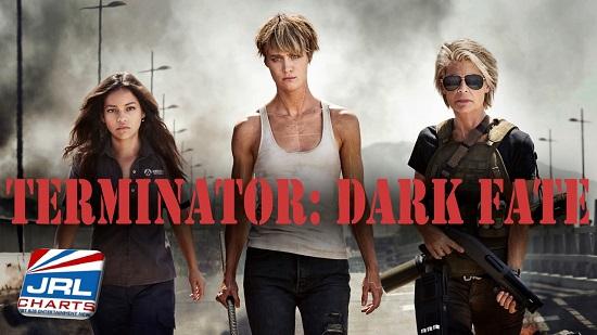 TERMINATOR 6 DARK FATE - Claudia Trujillo, Mackenzie Davis and Linda Hamilton
