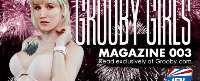 TS Lena Kelly Scores Cover of 'Grooby Girls' Issue 3 Digital Magazine
