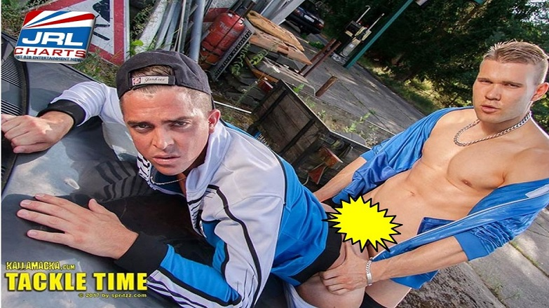 Tackle Time DVD - Gay-Porn-Movie-Spritzz Entertainment Unveils Jordan Fox, Moskito and More