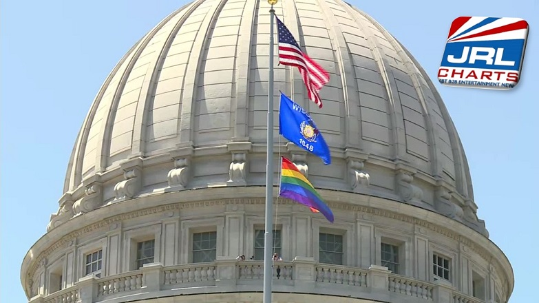 Wisconsin GOP Lawmaker Slams Pride Flag Over State's Capitol