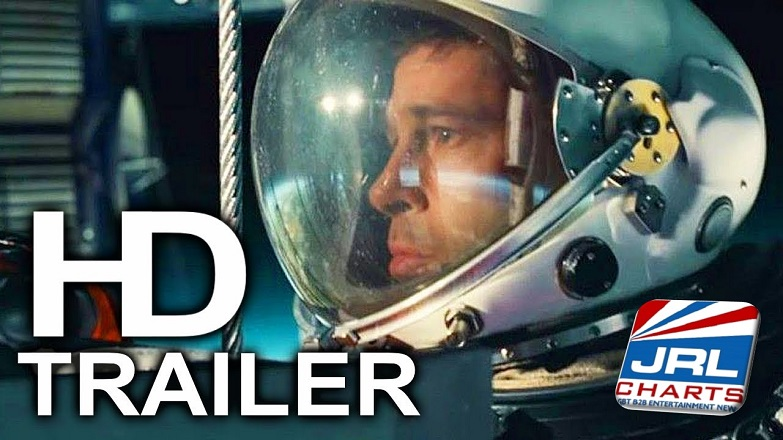 AD ASTRA Official Trailer #2, Brad Pitt, Tommy Lee Jones [Watch]