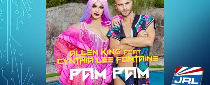 Allen King-Pam Pam-MV feat. Cynthia Lee Fontaine Debuts