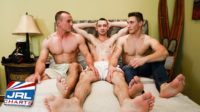 Battlefield Threesomes 6 DVD -Gay-Porn- First Look at Raw Recruits-active-duty