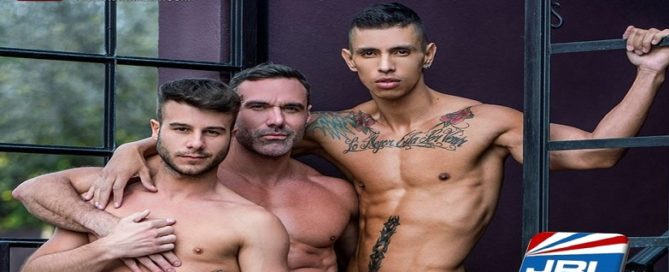 Daddy's Forbidden Lust DVD - First Look at Allen King Leads Max Avila and Manuel Sky