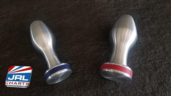 GRIPZ Butt Plug-Ballistic Metal