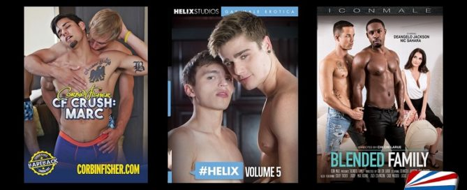 New Gay Erotica DVDs for July 9, 2019 (NSFW)
