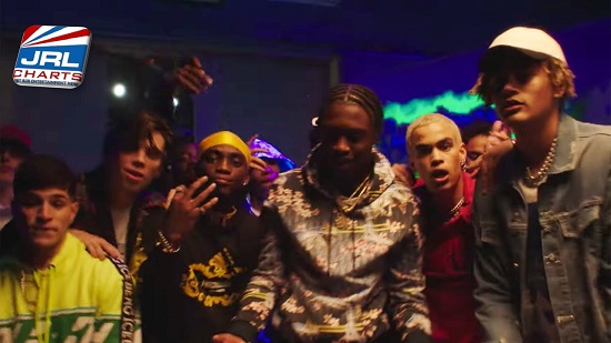 PRETTYMUCH featuring Lil Tjay in 'Lying' Music Video