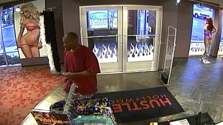 Police Release Video of Suspect in Adult Novelty Store Robbery (2)