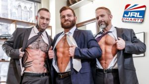Riley Mitchell Service Dylan James, Dirk Caber bareback-Lucas-Entertainment [NSFW]