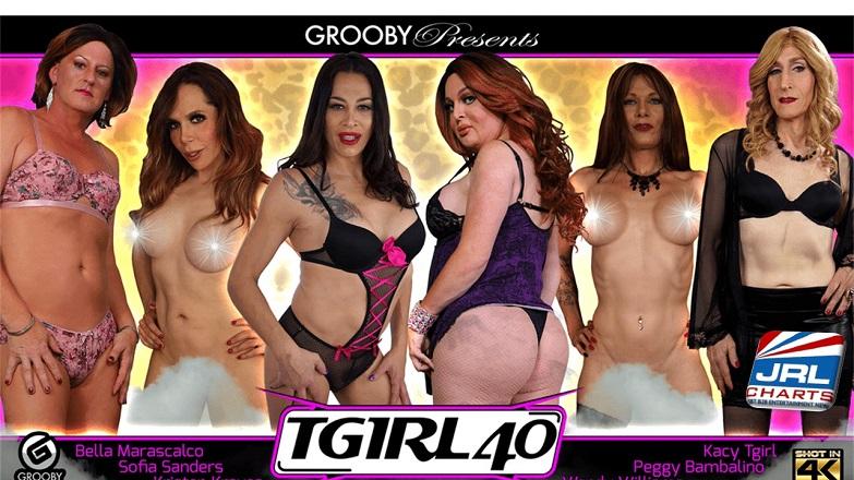 TGirl 40 DVD - Grooby Debuts 1st Trans MILF DVD [NSFW]