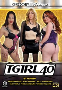 TGirl 40 DVD - Grooby Productions