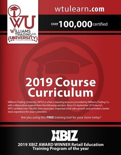 WTU 2019 Curriculum-Williams-Trading-University-e-Learning
