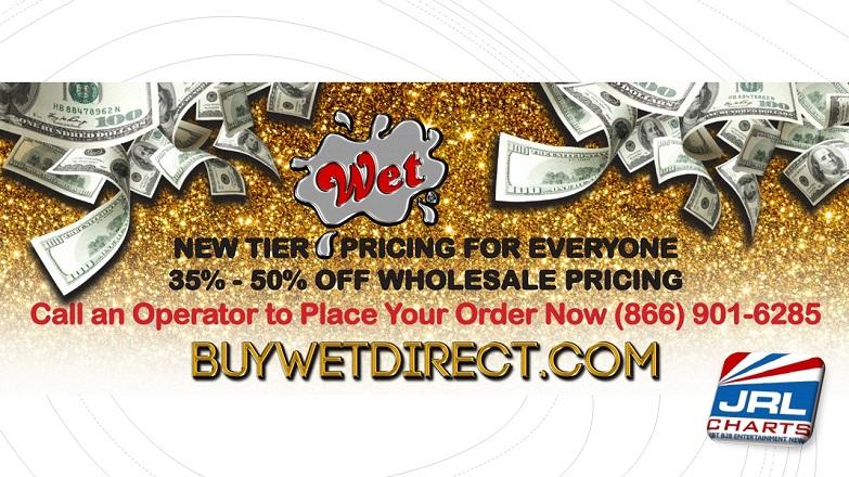 Wet Lubricants Launch Buy Wet Direct for Retailers