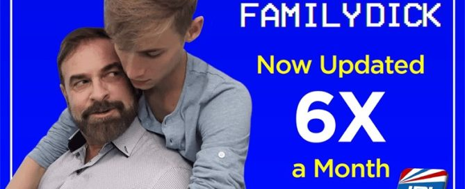 FamilyDick.com Updating New Gay Content Six Times Per Month