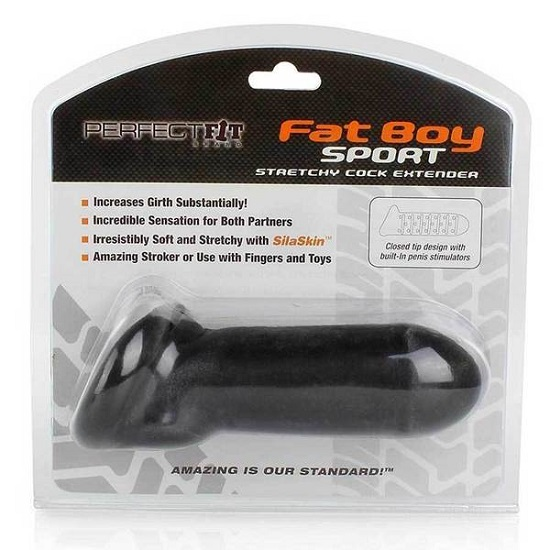 Fat Boy Sport-Stretchy-Cock-Extender-Packaging-Perfect-Fit-Brand