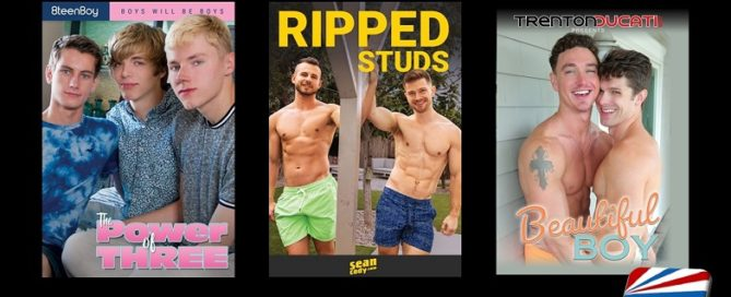 Gay Adult Movies Coming Soon - August 5, 2019 [NSFW]