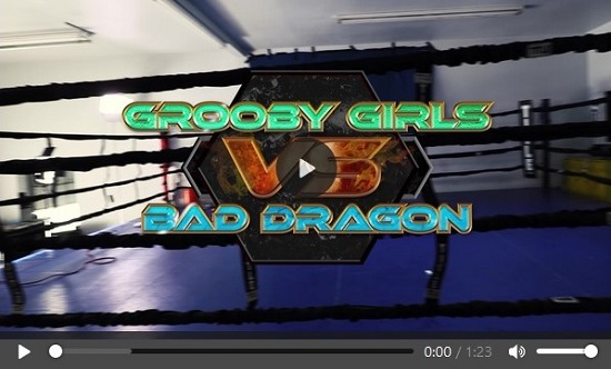 Grooby Girls vs. Bad Dragon movie trailer-GroobyDVD