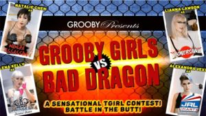 Grooby Streets 'Grooby Girls vs. Bad Dragon' on DVD