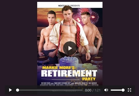 Markie-More's-Reitirement-Party-DVD-gay-porn-trailer-Next-Door-Studios