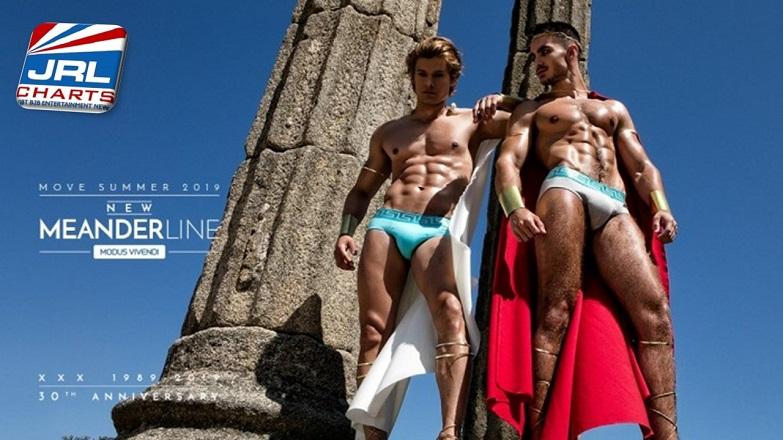 Modus Vivendi Debut Meander Underwear Summer Campaign MV