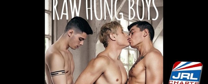 Raw Hung Boys DVD-Alam Wernik- Ben Masters-Clark Davis-CockyBoys