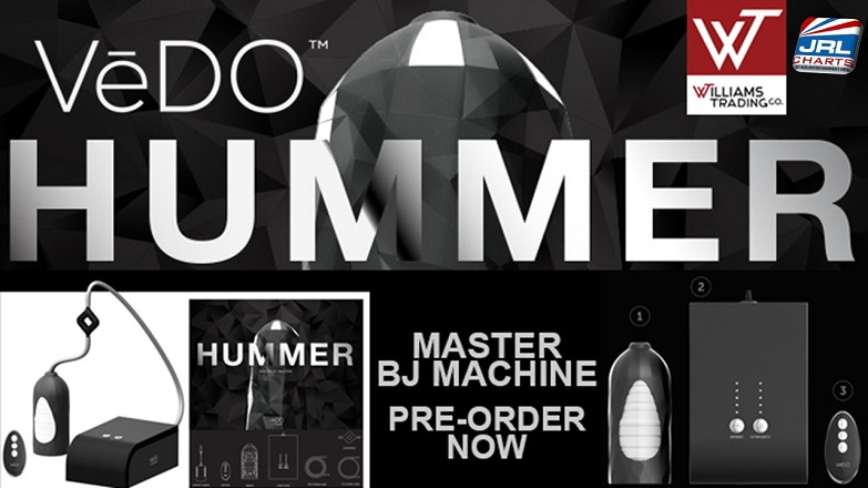 VēDO Platinum Hummer Blow Job Machine Pre-Orders at Williams Trading Co.