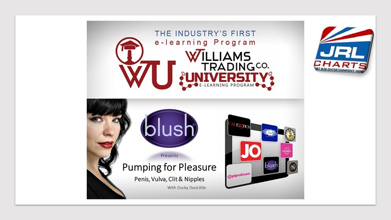 Williams Trading University Launch New Blush e-Learning Course
