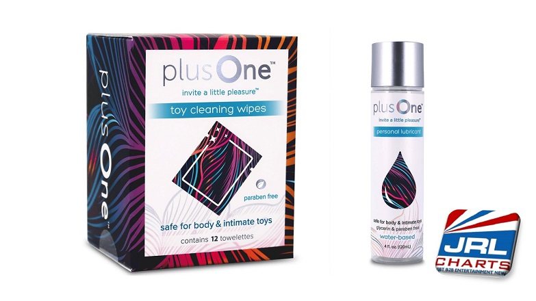 plusOne Expands with plusOne Personal Lubricant- plusOne Toy Cleansing Wipes