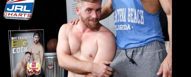 Gay News - Alexander Garrett, Scott Riley star in My Trainer's Big Cock-Pride Studios