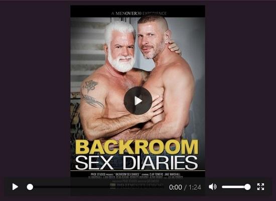 gay porn Backroom Sex Diaries DVD-Gay-Porn-Trailer-Pride Studios