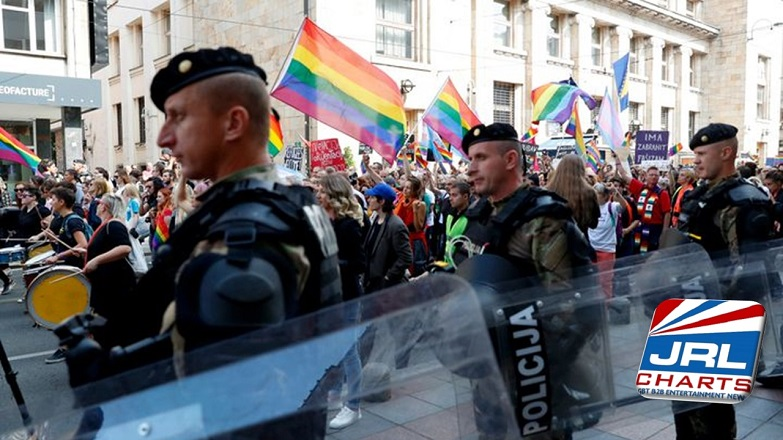 Bosnian's March In First Pride Parade Under Police Protection