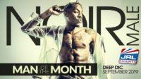 Deep Dic Named Noir Male 'Man of the Month' September