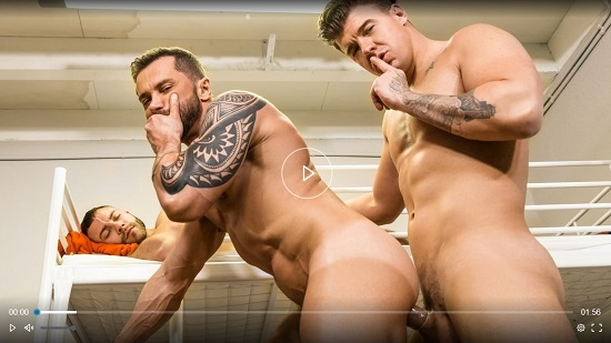 Hostel-Takeover-DVD-Gay-Porn-trailer-JJ Knight-and-Tyler-Berg